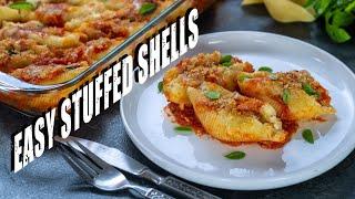 Easy Three Cheese Stuffed Shells