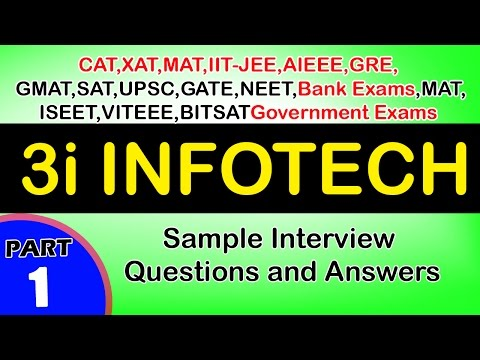3i infotech-1 Jobs,Career,Interview Questions&Answers,videos-Freshers,Experienced