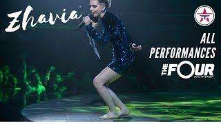 Video ZHAVIA: All Performances On 'The Four' | The Four Season 1 MP3, 3GP, MP4, WEBM, AVI, FLV Juli 2019
