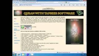 Download Free Quran With Tafseer Software