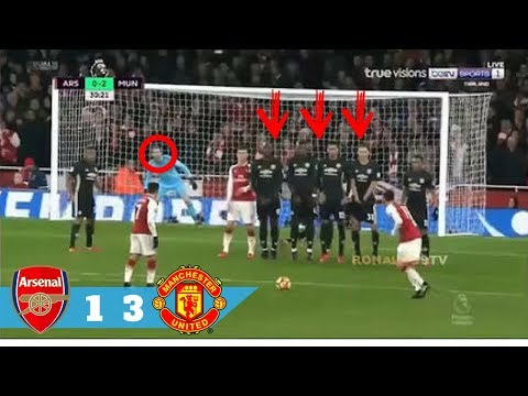 Arsenal vs Manchester United 1- 3 || All Goal & Highlight Extended (EPL)