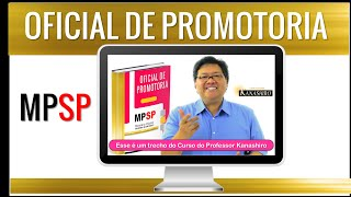 CONCURSO OFICIAL DE PROMOTORIA MPSP   Artigos 81 a 85 do CPC