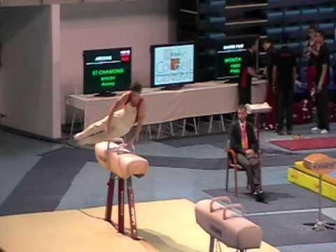 Championnat de France gymnastique 2012