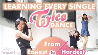 Video I Learned Every Twice Dance - from Easiest to Hardest (KPOP KOUNTDOWN #2) MP3, 3GP, MP4, WEBM, AVI, FLV Juni 2019