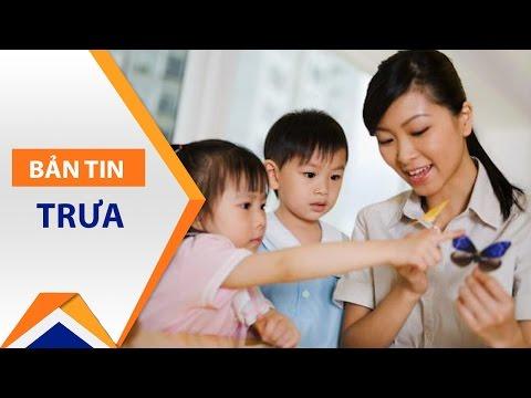 TP.HCM kiểm tra đột xuất nhóm giữ trẻ tư thục | VTC - Thời lượng: 58 giây.