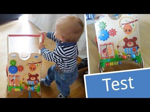 Test: Knorrtoys Lauflernwagen Play Pram | Babyartikel.de