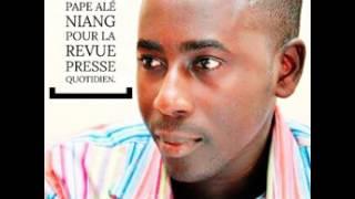 Ecoutez la revue de presse en français de Pape Alé Niang du 25 avril 2017.