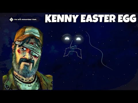 Kenny Easter Egg - The Walking Dead: The Final Season - Episode 2