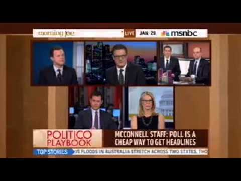 "MSNBC Morning Joe: Mitch McConnell's ""Stunning"" ""Deadly"" Poll Numbers"