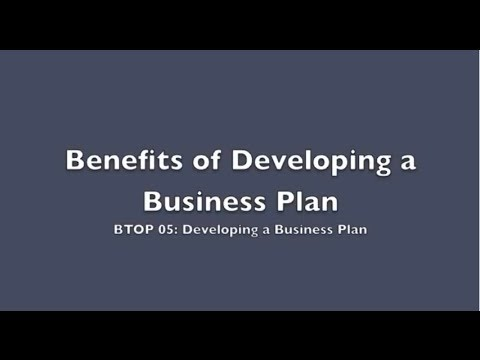 BTOP 05: Business Plan Explained