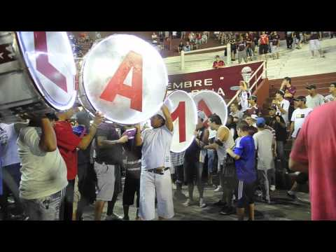 Video - Ingreso de la Barra Brava de Lanús - La Barra 14 - Lanús - Argentina