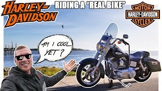 8. Riding A Harley Davidson Dyna Switchback In Florida! | Trip To The Coast | Cedar Key Exploration