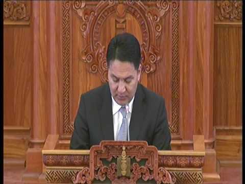 Х.Нямбаатар: Ш.Раднаасэдийн гаргасан саналыг гишүүд дэмжсэн