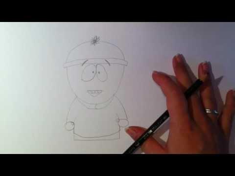 Stan Marsh von Southpark zeichnen / Stan malen