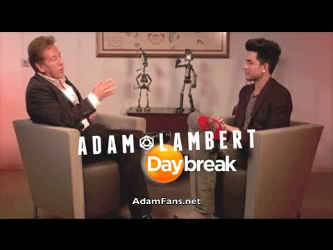 UK DayBreak show Adam Lamberts Gleeful new role 22 11 2013