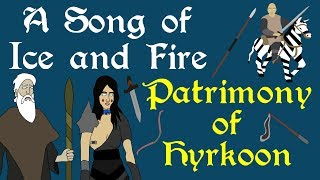 """A brief history of the Patrimony of Hyrkoon, from their rise east of the Bone Mountains, to their fall and successor states. Based on the series A Song of Ice and Fire by George R. R. Martin.Support Civilization Ex with a Monthly Pledge of your choice at:https://www.patreon.com/civilizationexFollow us https://twitter.com/civilizationexVisit our Site: http://www.civilizationex.com/Music By RFGBc: https://www.youtube.com/channel/UCQKGLOK2FqmVgVwYferltKQMusic by Ross Bugden (RFGB): """"Ice and Fire""""https://www.youtube.com/channel/UCQKG...If you would like to show your support, please Donate! :)https://www.paypal.com/cgi-bin/webscr..."""