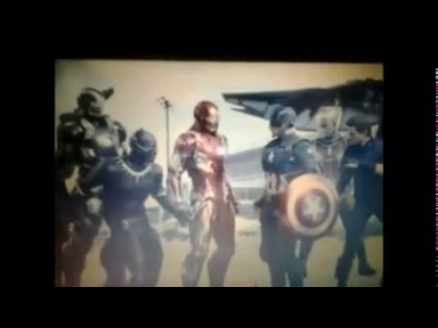Marvel Civil War UNITED WE STAND DIVIDED WE FALL FAN FILM YOUTUBE SPOT
