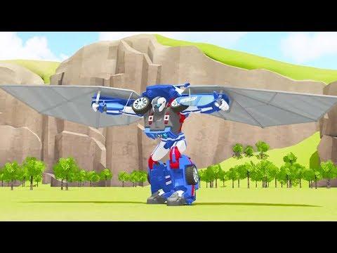 TOBOT Athlon English | 106A - Airtime Allies | NEW! | Season 1 Full Episode | Kids Cartoon