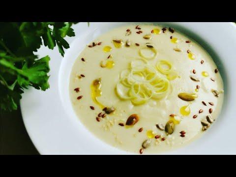 Supa crema de praz si cartofi. Supa crema catifelata si cremoasa de praz