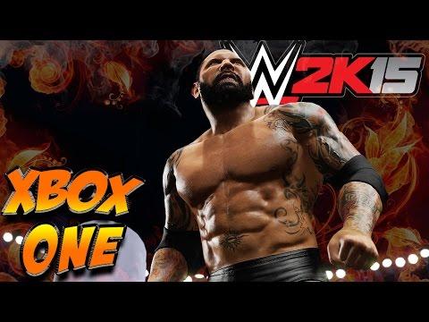 wwe 2k15 xbox one gameplay