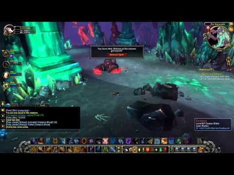 WoW Cataclysm Guide – Heroic Stonecore Part 1