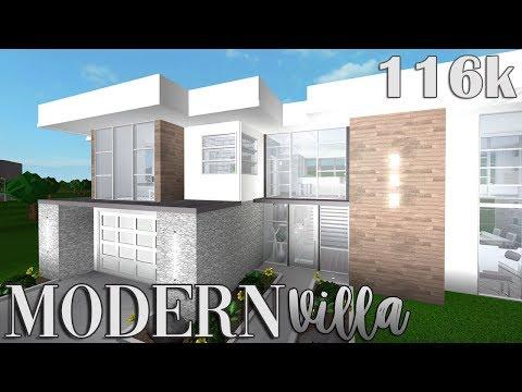 BLOXBURG    Modern villa 116k