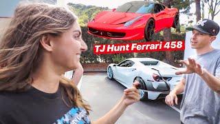 RACING TJ HUNTS REBUILT FERRARI 458 FOR PINKS ...