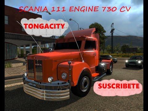 SCANIA 111 MODIFICADO ENGINE 730 CV 1.25