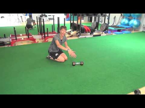 Hockey Training – Bear Position Row