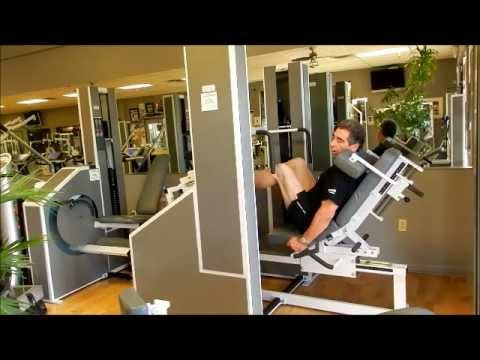 MedX Leg Press Instructional Video with Bill Crawford