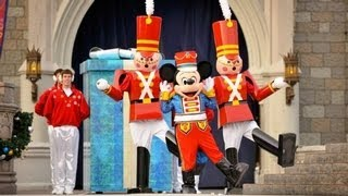 "♥♥ The 2014 Walt Disney World ""Celebrate The Season"" Christmas Show (in HD)"