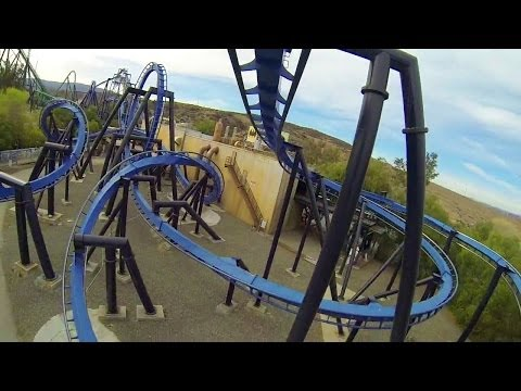 POV - Video provided by: Six Flags Magic Mountain.