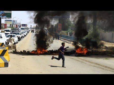 Sudan: Demonstration gegen das Militär - Ausschreitun ...