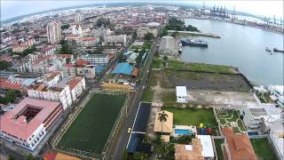 Colon Panama  City new picture : Colon City view Panama Canal Atlantic w/ DJI Phantom 2 Vision Plus