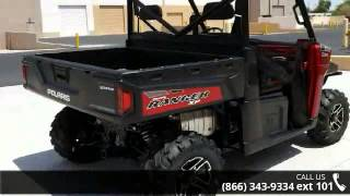 4. 2015 Polaris Ranger XP 900 EPS Sunset Red LE  - RideNow P...