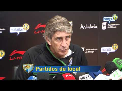 Viernes 18/03/11. Rueda de prensa de Pellegrini