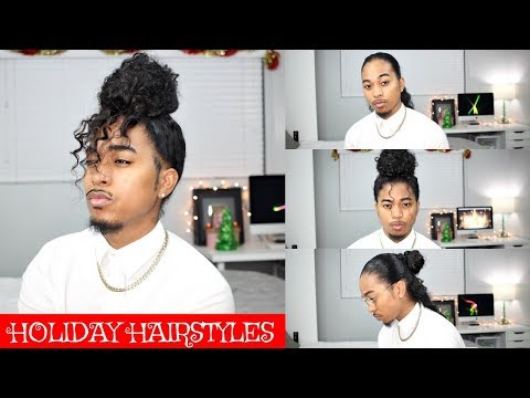 Quick Holiday Hairstyles for Long Curly Hair  Mens Hairstyles