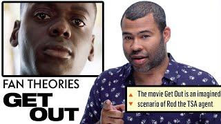 "Video Jordan Peele Breaks Down ""Get Out"" Fan Theories from Reddit 