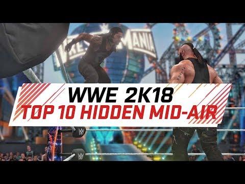 WWE 2K18 Top 10 Hidden Catching Finishers