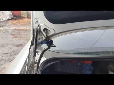 снятие замка багажника форд мондео 4