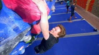 The Sexiest Tryhard Face In Bouldering! by Eric Karlsson Bouldering