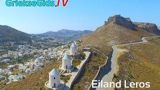 Dronevideo / Luchtvideo eiland Leros - GriekseGids.TV