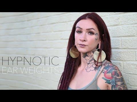 Hypnotic Ear Weights | UrbanBodyJewelry.com