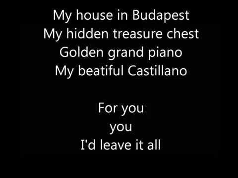 Budapest - George Ezra | Lyrics Video | HD_Magyarország, Budapest. Legeslegjobbak