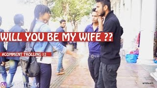 be my wife is what we said to random girls in this prank in india .. we have lots of best pranks on our channel and this hot girl...