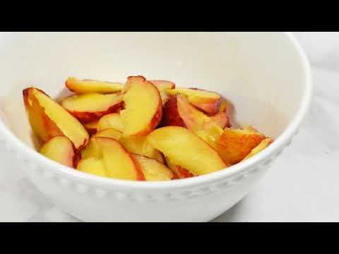 Quick & Easy Desserts - Peaches And Cream Galette