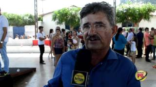 Ex-prefeito Antônio de Braga fala sobre a inauguração da Rodovia de Vieirópolis