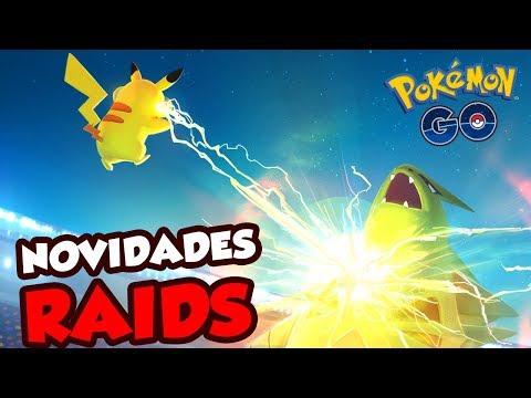 MUDANÇAS IMPORTANTE NAS RAIDS E LANÇAMENTO DAS EX-RAIDS -  Pokémon Go