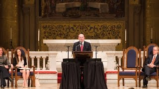 At Stanford, Elder Cook Addresses Faith and Values in Quest fo...