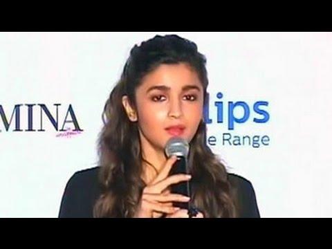 Alia Bhatt on the pressure to be perfect